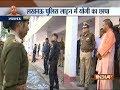 Uttar Pradesh Chief Minister Yogi Adityanath makes surprise visit of Lucknow police line