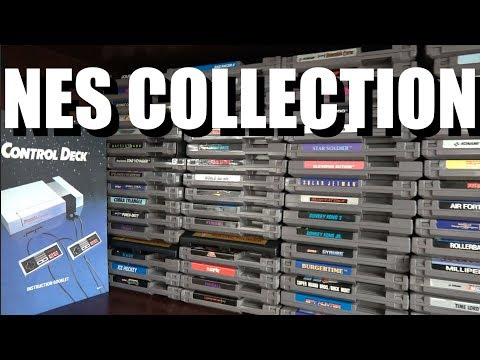 CGR NES COLLECTION Game Room Tour!