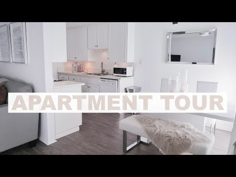 FURNISHED APARTMENT TOUR 2018 | Marie Jay