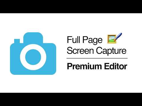 GoFullPage - Full Page Screen Capture - Premium Editor