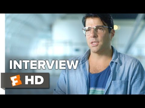 Star Trek Beyond Interview - Zachary Quinto (2016) - Action Movie