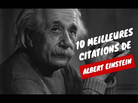 Albert Einstein En Francais Les Plus Belles Citations 10 Meilleures Citations