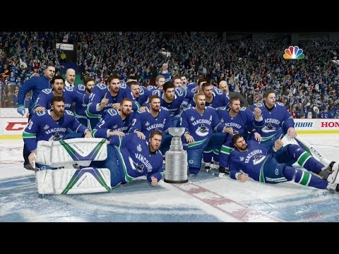 NHL 18 - Vancouver Canucks Stanley Cup Celebration
