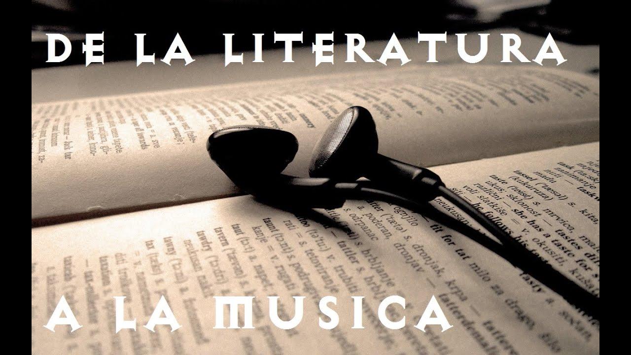 Resultado de imagen de musica y literatura