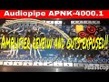 Audiopipe APNK-4000.1 Amplifier review and guts exposed!!