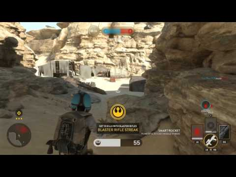 Star Wars Battlefront Multiplayer Highlight: The way of the jet pack life