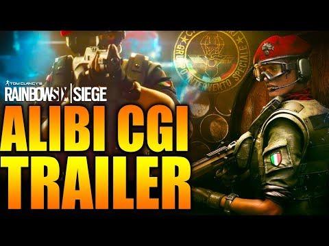 Rainbow Six Siege - In Depth: ALIBI CGI TRAILER - ITALIAN CTU NEW DLC