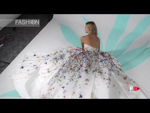 "GEORGES HOBEIKA ""Ready to wear"" Ad Campaign Spring Summer 2016 by Fashion Channel"