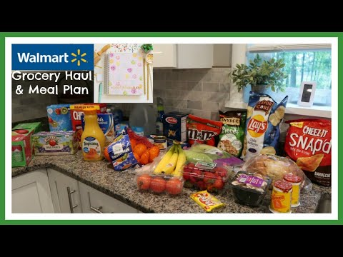 wal-mart-grocery-haul-&-meal-plan
