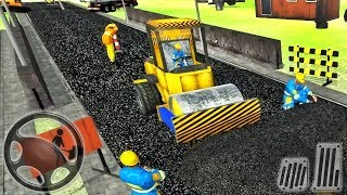 City Road Builder Highway - Construction Simulator - Android GamePlay screenshot 4