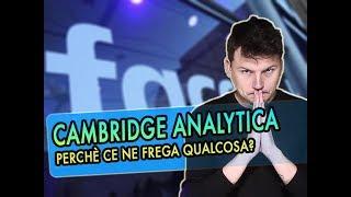 Cos'è questa storia di Cambridge Analytica?