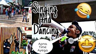 Doing Pubg And Fortnite Dance In Mal  Ammy Vlogs  Apna Time Ayega