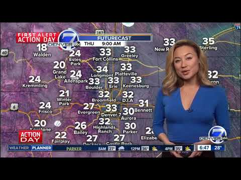 Snow tapers off- Clearing skies through the day state-wide Thursday