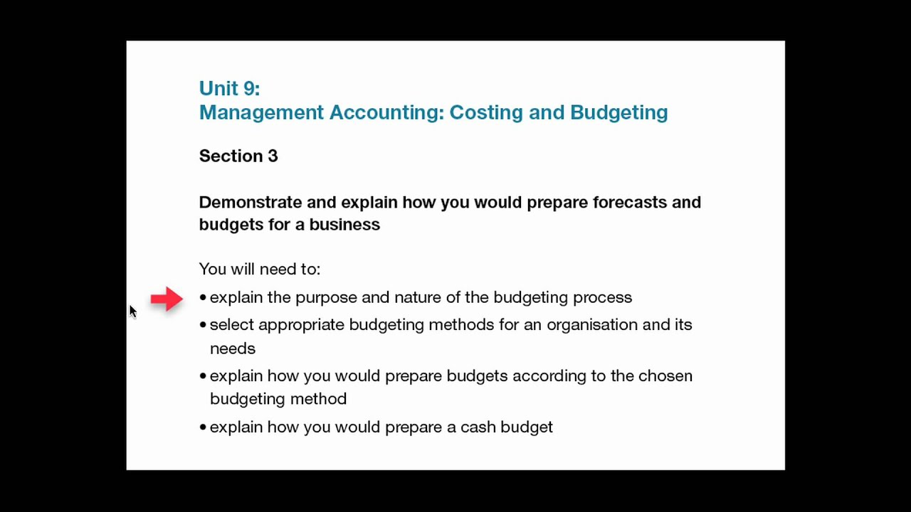 unit management accounting mov unit 9 management accounting mov
