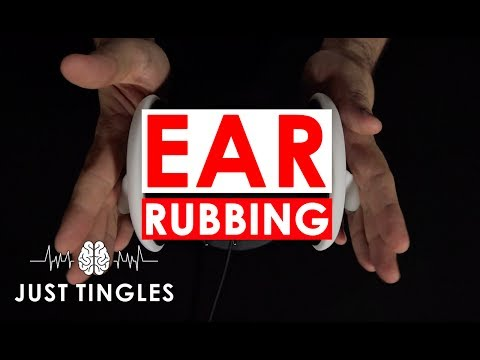 ASMR | Rough Ear Rubbing To Cure ASMR Immunity | NO TALKING | 1 Hour