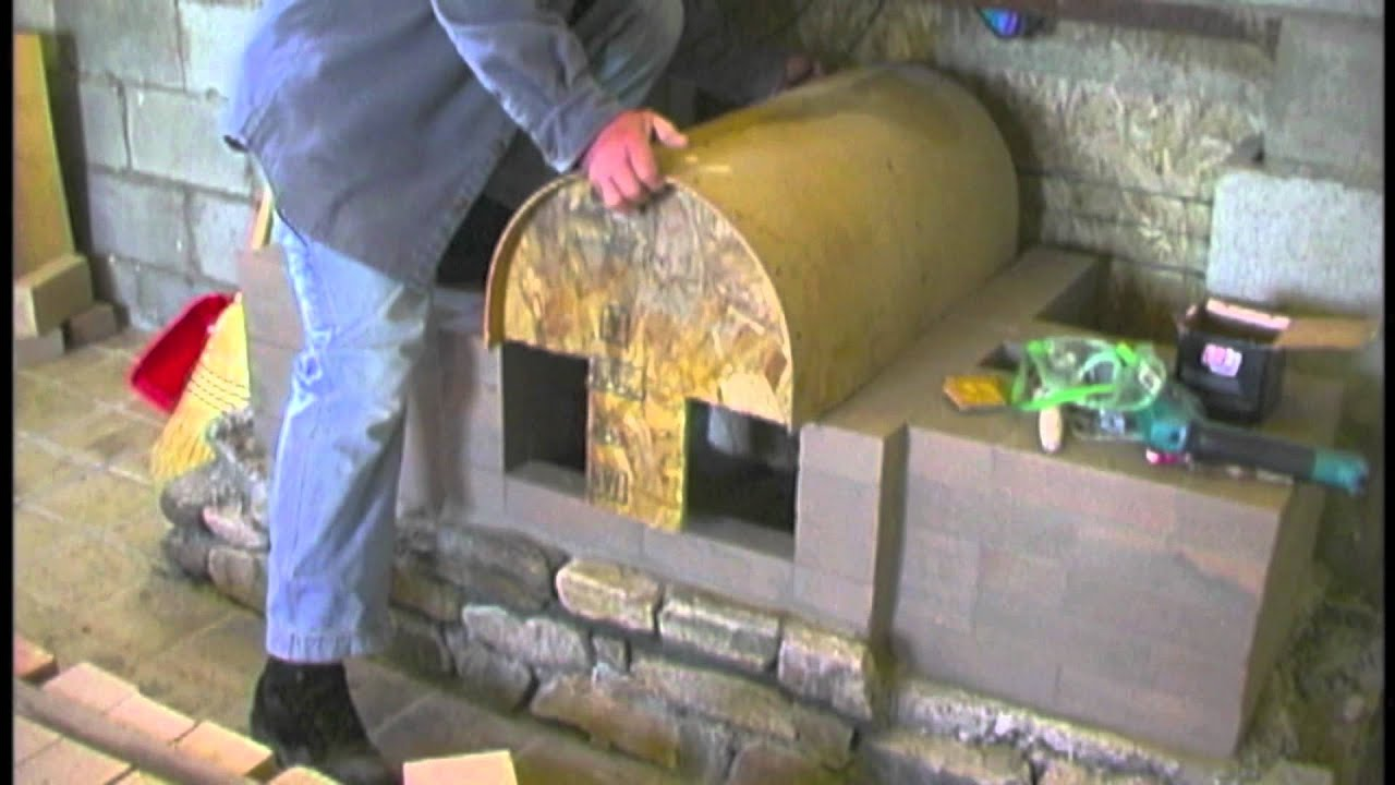 Build Your Own Masonry Fireplace Heater Stove Sample Clips