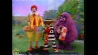 How Hamburglar got his stripes McDonalds commercial