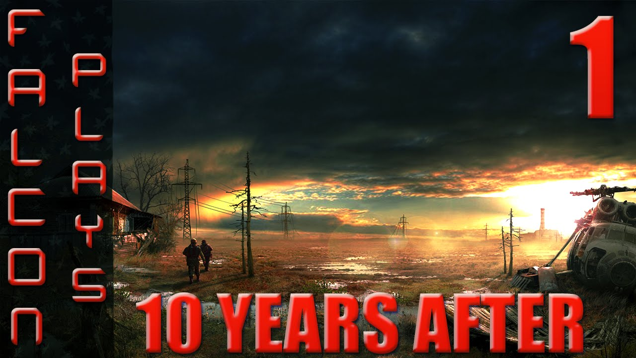 10 years after gameplay open world survival horror let s play