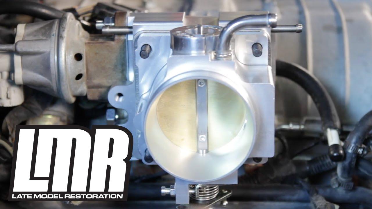 Mustang Throttle Body Installation - SVE (86-93 5 0L Fox Body)