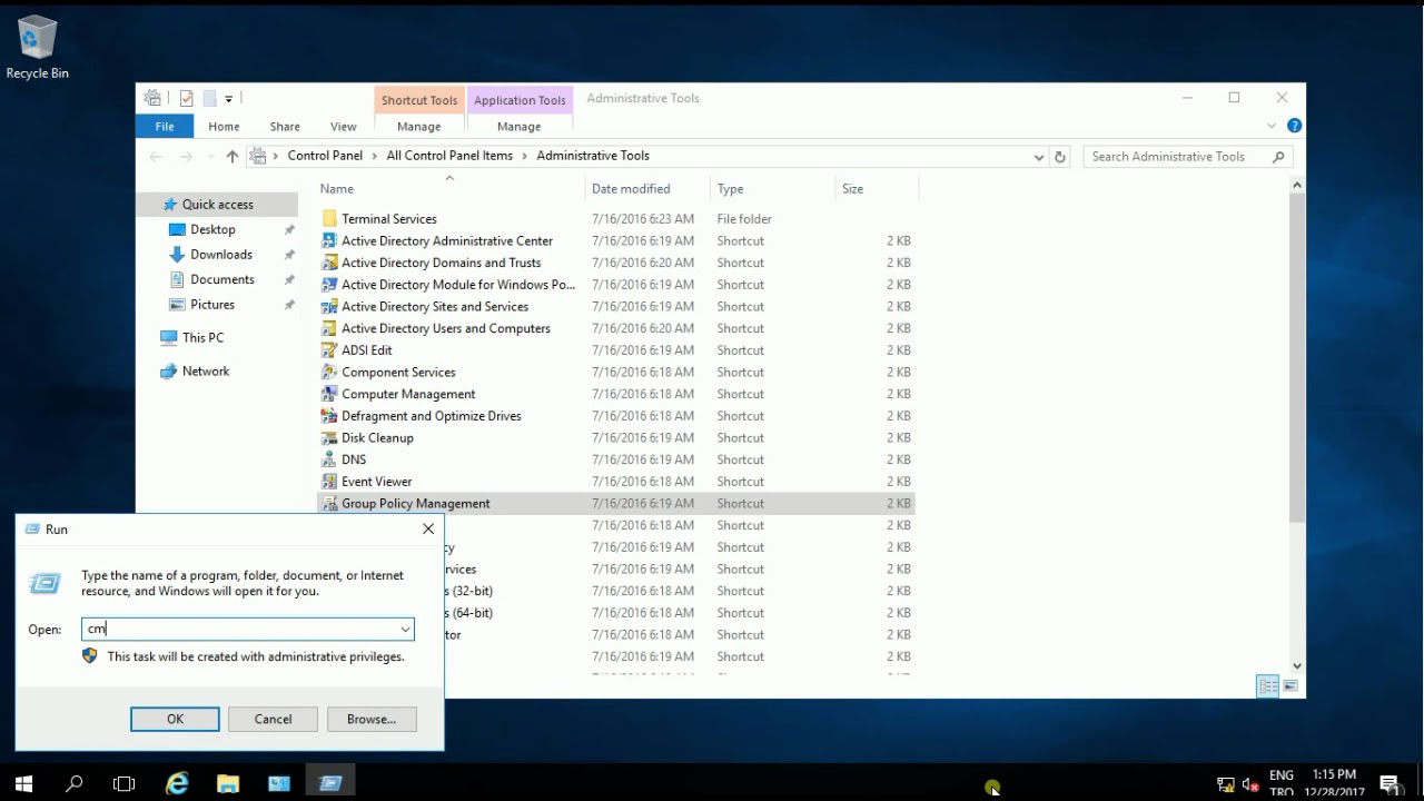 Windows Server 2016 Hardening Best Practices