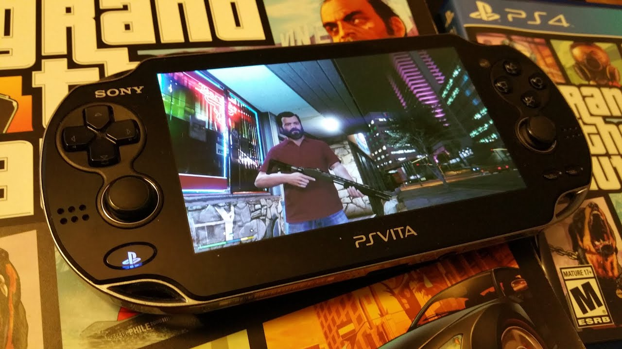 GTA 5 Remote Play - PS4 / PS Vita First Person (1080p HD ...