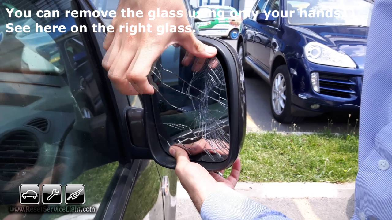Replace Mirror Glass  Cover And Frame Volkswagen T5