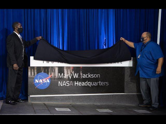 NASA Headquarters Unveils New Name: Mary W. Jackson Headquarters Building