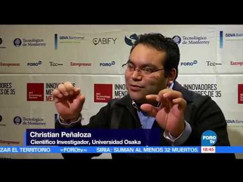 Christian Penaloza - Innovador del año por el MIT Technology Review