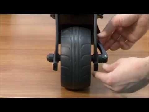 Motocaddy Technical Video : Adjusting the Front Wheel