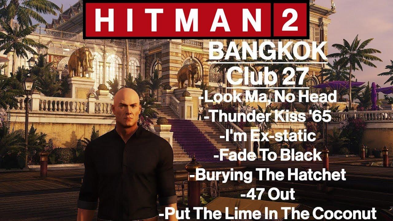 hitman 2 bangkok hatchet