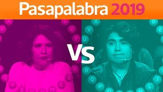 Pasapalabra | Andrea Vergara vs Juan José Alegría