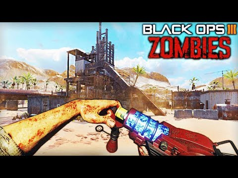 RUST SUR BLACK OPS 3 ZOMBIES ! - (Custom Map Zombie)
