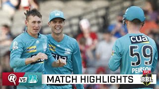 Heat boost finals hopes with victory over Renegades | KFC BBL|10
