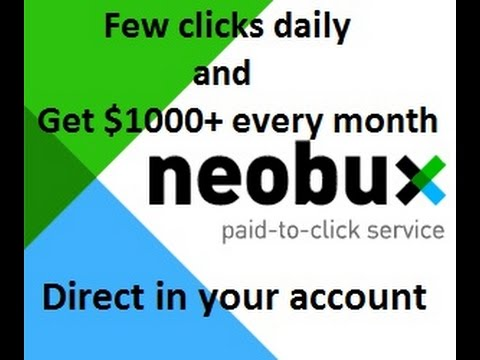 earn daily $500 with World's best PTC site neobux.com – Full earning details on Neobux in hindi