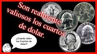 Cuanto valen los quarters- monedas de 25 centavos de 1965 a 1998- monedas de cambio