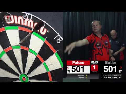 2016 CDC Event #6: Larry Butler vs David Fatum (FInals)