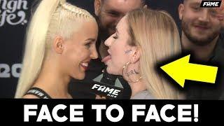 LIL MASTI VS LINKIEWICZ FACE TO FACE! *POCAŁOWAŁY SIĘ?* (SHOTY)