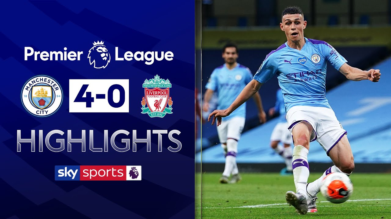 Man City thrash champions Liverpool 4-0! | Manchester City 4-0 Liverpool | Premier League Highlights
