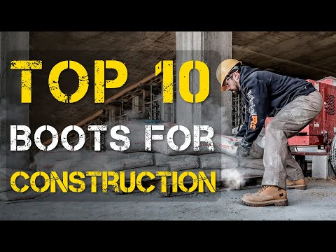 Top 10 Best Work Boots for Construction