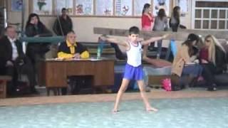 Вольные упражнения  , 1 юношеский.wmv ,  09.04.2011