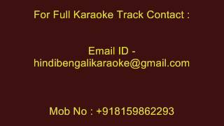 Ami Jamini Tumi Shashi He - Karaoke - Srikanto Acharya - Neel Dhrubatara