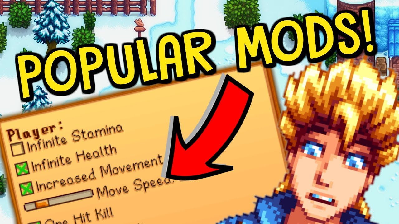 The MOST Downloaded & Used Mods In Stardew Valley!