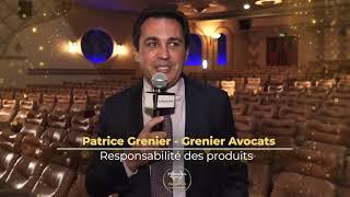 Palmarès du Droit 2021   Grenier Avocats   Responsabilité des produits