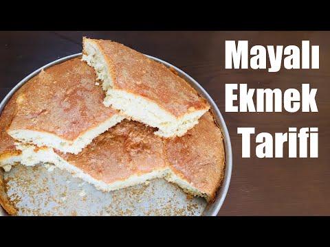 Korona Karantina Günlerinde Basit Mayalı Evde Ekmek Yapımı