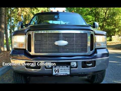2006 Ford F-350 Lariat 4X4 86K Powerstroke Long Bed for sale in Milwaukie, OR