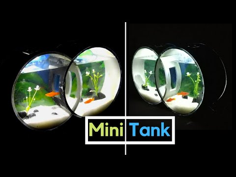 [DIY] Amazing Mini Fish Tank using PVC Pipes