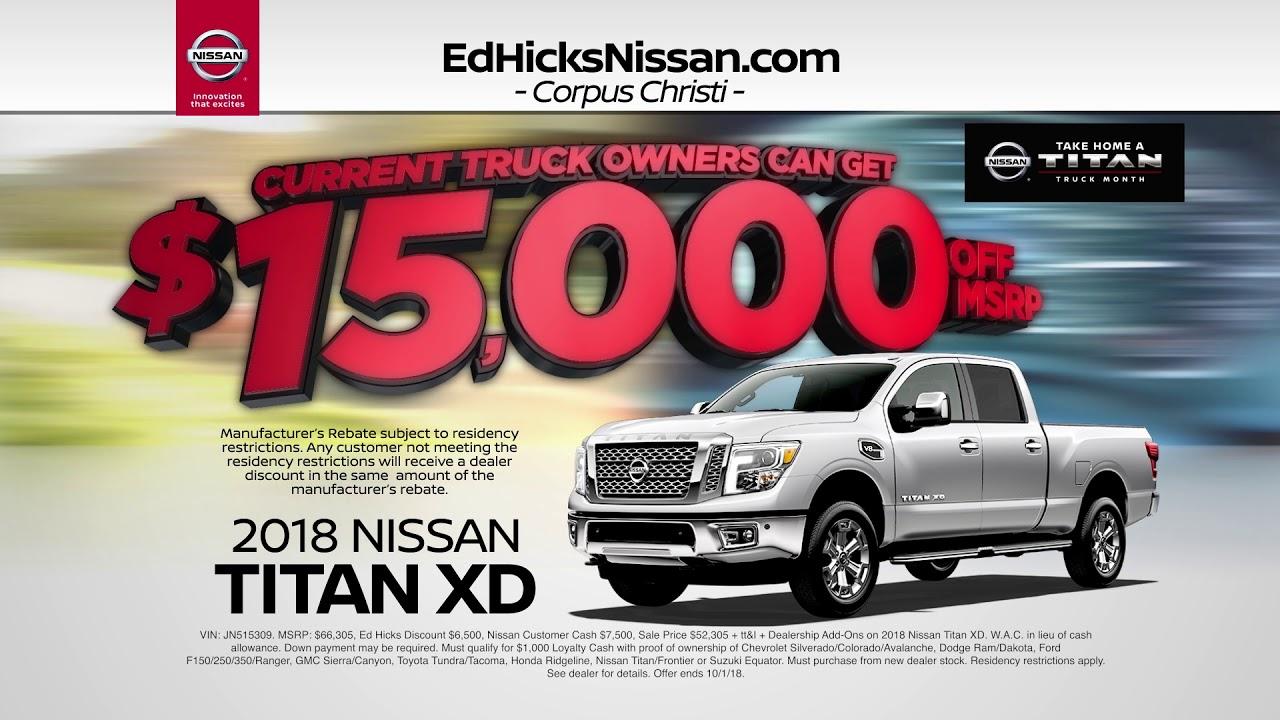 Get More At Ed Hicks Nissan!