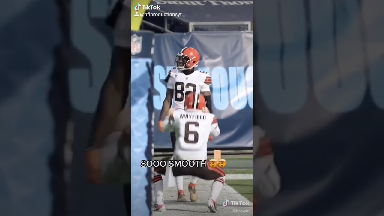 The Browns Get Their TikTok On After Win Over The Steelers  #Playoffbound  [VIDEO]