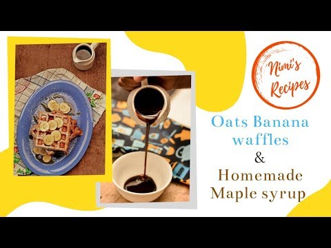 EASY HOMEMADE WAFFLES & MAPLE SYRUP: Kid-Friendly Recipe