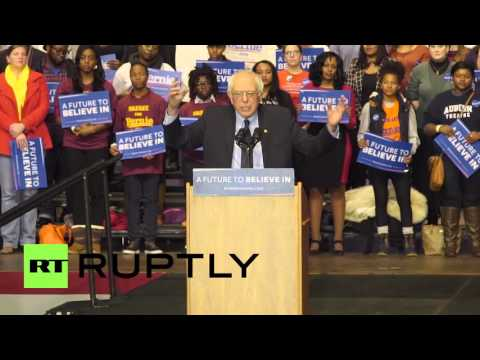 USA: Sanders praises Martin Luther King Jr.